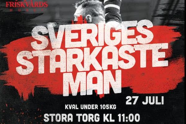Bild - SM-kval Sveriges starkaste man