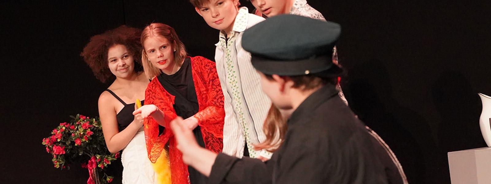 Bild - Teaterkollo dag 1