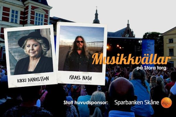 Bild - Musikkväll med Kikki Danielsson & Israel Nash (US)