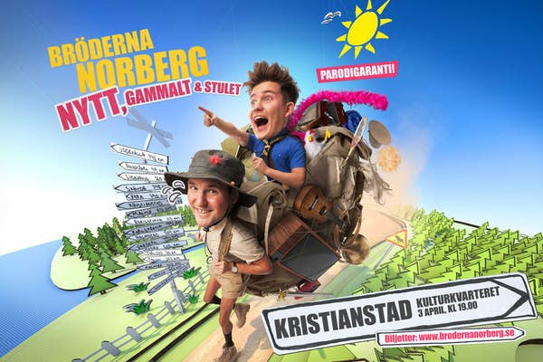 Bild - Bröderna Norberg på turné!
