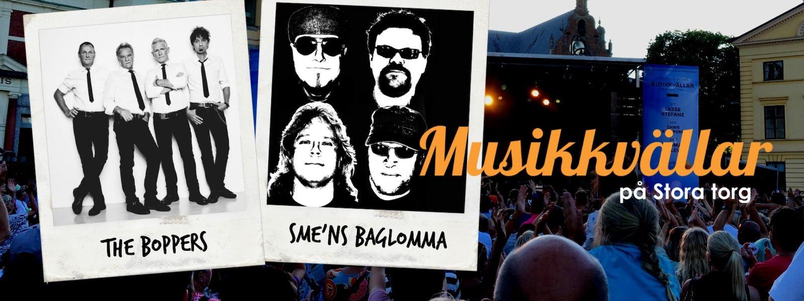 Bild - Musikkväll med The Boppers & Sme'ns Baglomma