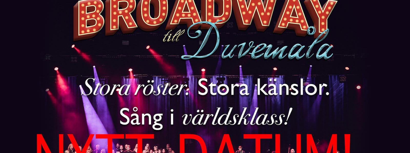 Bild - Från Broadway till Duvemåla, kl. 19.30 | FRAMFLYTTAD