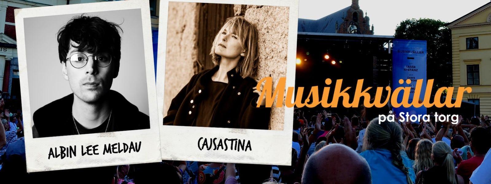 Bild - Musikkväll med Albin Lee Meldau & CajsaStina