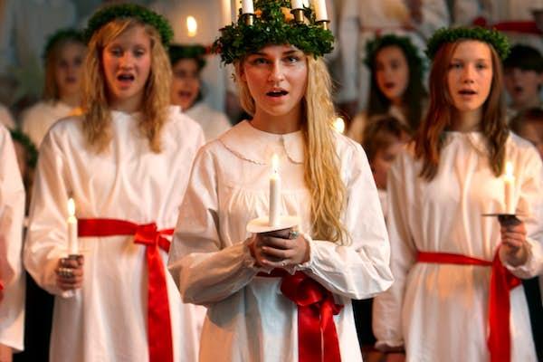 Bild - Luciakonsert med Kristianstad Musikklasser
