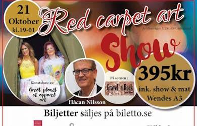 Bild - Red carpet art Show