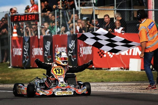 Bild - Karting i city