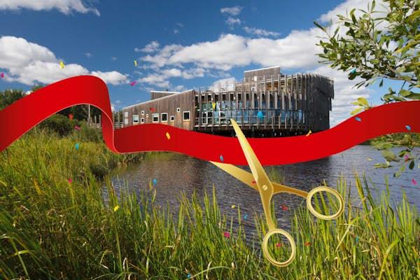 Bild - Invigning av Utemuseum Årummet
