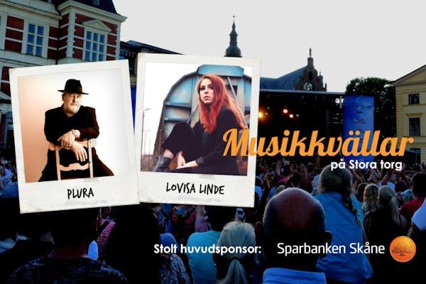 Bild - Musikkväll med Plura & Lovisa Linde