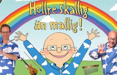 Bild - Hellre skallig än mallig! Familjelördag på Kulturkvarteret