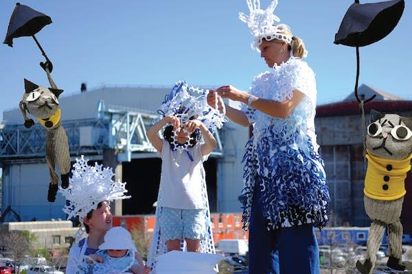 Bild - 6-9 år: ÅterSKAPA - sagoläsning & skapande pyssel