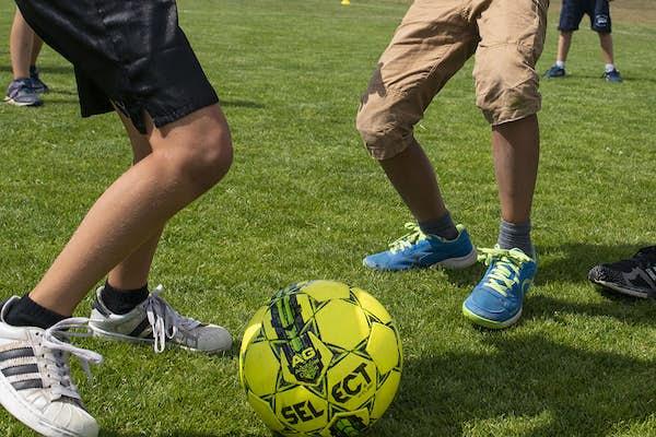 Bild - 6-18 år: Avslutning sommarfotbollsskola