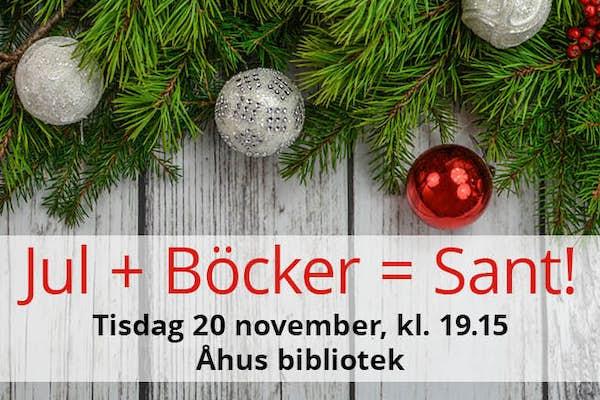 Bild - Jul + Böcker = Sant!
