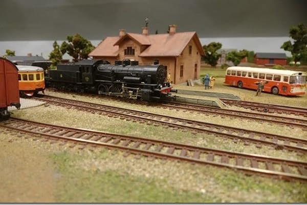 Bild - Uppvisning av modelljärnväg