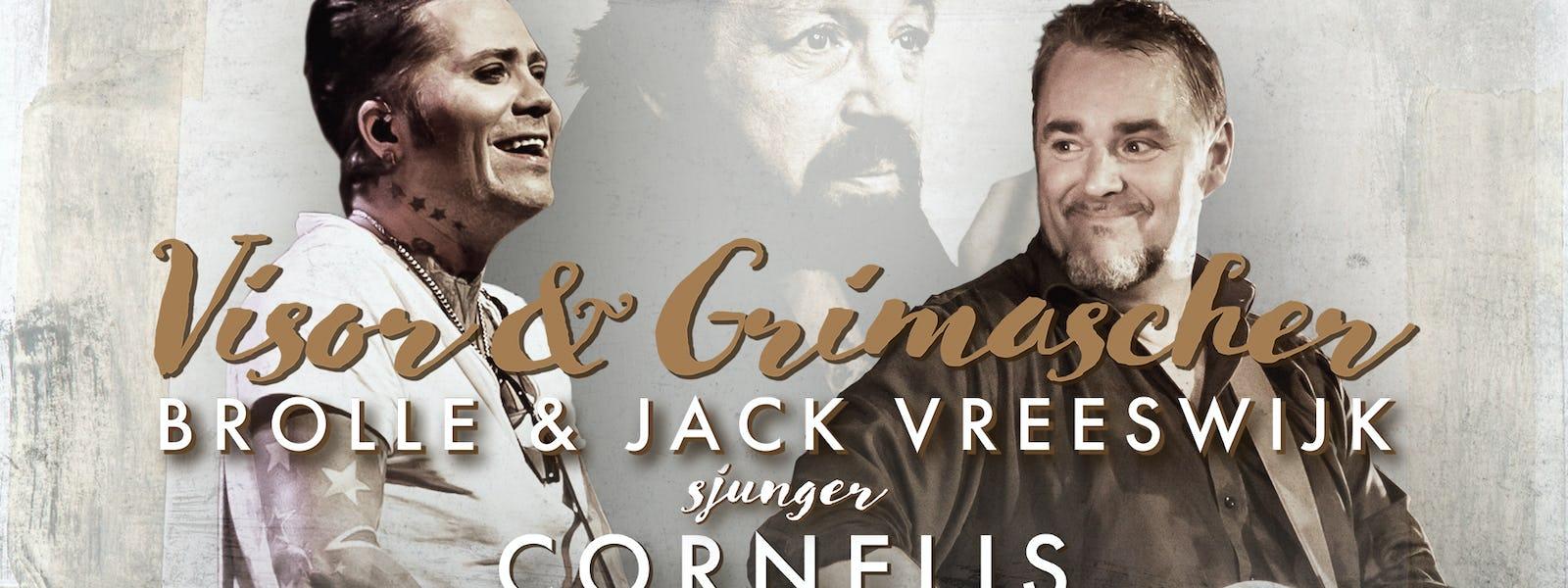 Bild - Visor & Grimascher - Jack Vreeswijk & Brolle sjunger Cornelis
