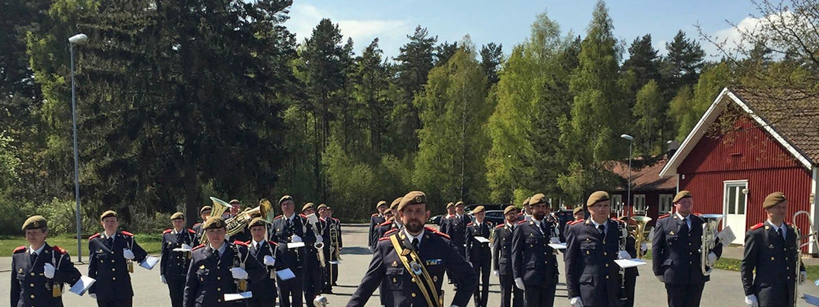 Bild - Hemvärnets musikkår Kristianstad