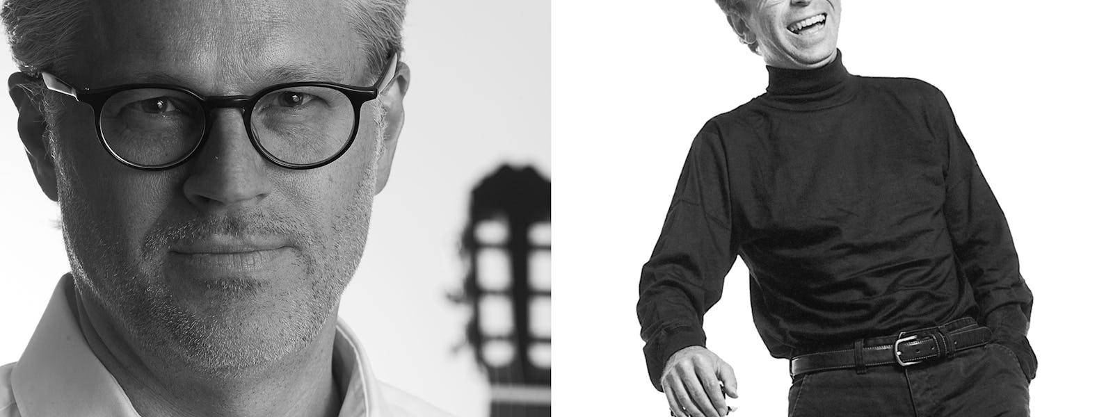 Bild - Helt klassiskt! Mästarmöte – Göran Söllscher och Mats Bergström