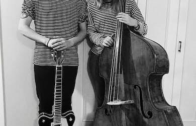 Bild - Musik i redet  Duon A&O bjuder på jazz och pop