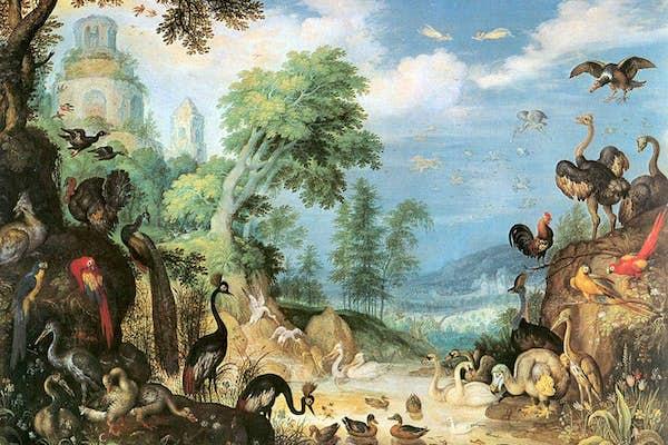 Bild - På vingar genom konsthistorien