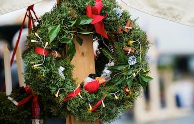 Bild - Julmarknad på Brunnen