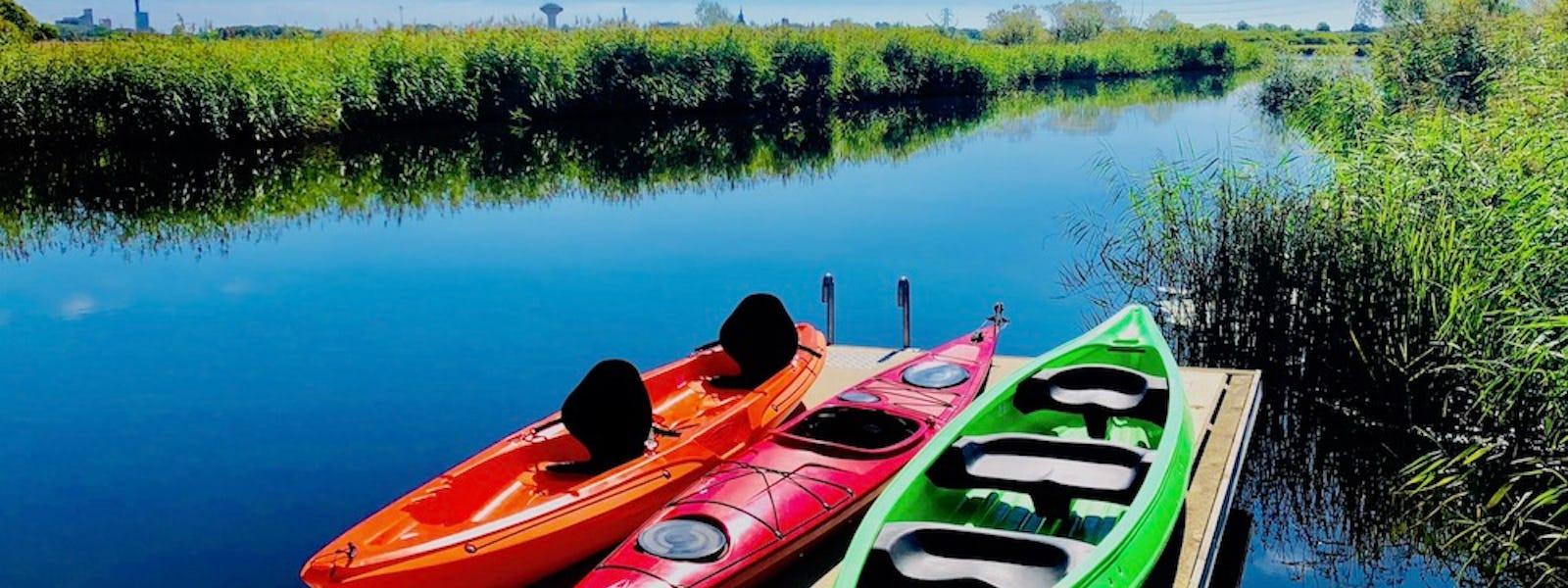 Bild - Paddla kanot eller kajak