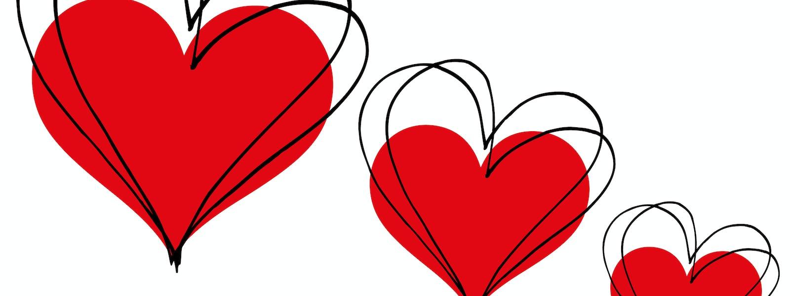 Bild - Kärlekens ton på Alla hjärtans dag