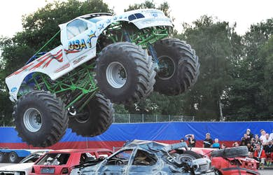Bild - Monstertruck & stuntshow