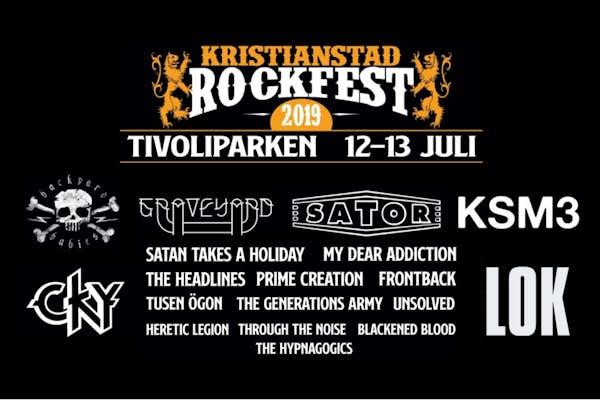 Bild - Kristianstad Rockfest 2019