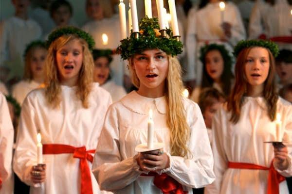 Bild - Kristianstads Musikklassers Luciakonserter 2019