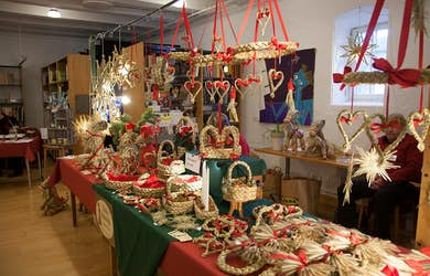 Bild - Museets traditionella julmarknad