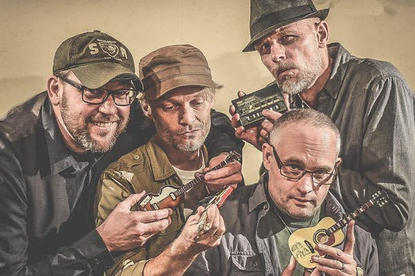 Bild - Webbsänd live-blues med Bergablues
